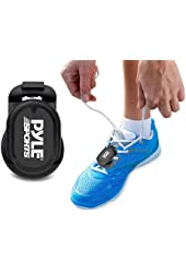 Pyle Smart Foot POD Stride Sensor For iPhone 6, 6 plus 5, 5S, 5C & 4S and Android Works MapMyRun, Wahoo Strava ala coach Apps Bluetooth LE Sensor
