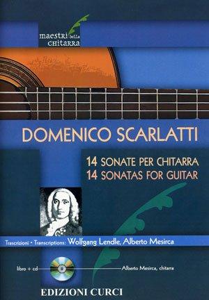 14 SONATE PER CHITARRA + CD - spartiti per chitarra classica