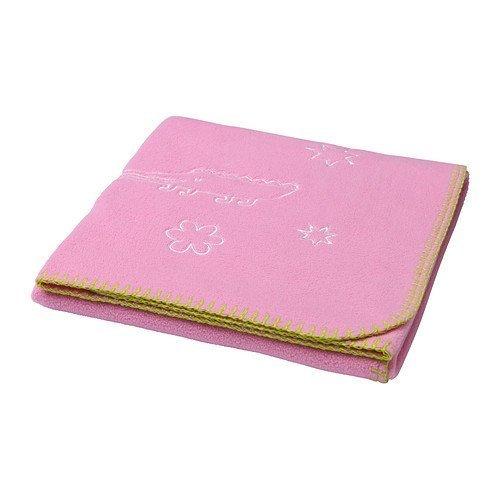 Ikea's Sagodjur Blanket, Pink - 1