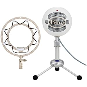 Blue Microphones Snowball USB Microphone Bundle (with Ringer Shock Mount)