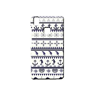 BLUEDIO Designer Printed Back case cover for VIVO V3 - G1433