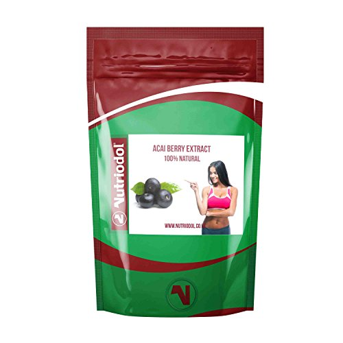 120 x Nutriodol Acai Berry Extract Tablets 2000mg ?FREE 30 DAY DIET PLAN WORTH ?49.99? 100% Natural Brazilian Extract ? 60 Days No Hassle Money Back Guarantee ? Weight Loss Diet Pills For Men & Women - Helps you cleanse your body, Helps increase your metabolic rate. Suitable for Vegetarians & Vegans