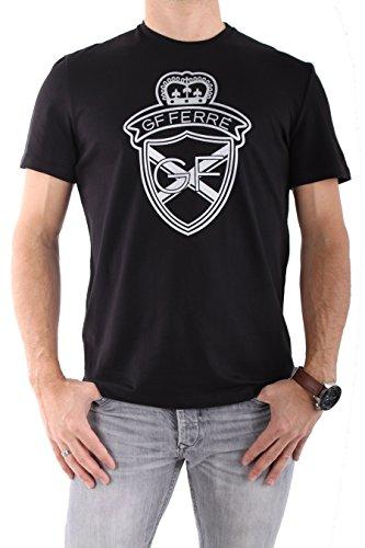 gianfranco-ferre-t-shirt-collo-a-u-maniche-a-3-4-uomo-nero-52
