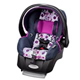 Evenflo Embrace Select Infant Car Seat with Sure Safe Installation, Florence