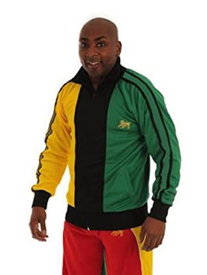 rasta4real Superstar JAMAICA Lion of Judah JACKET