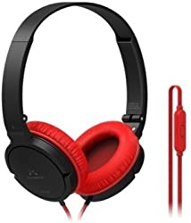 Soundmagic P11S Over-the-Ear Headset (Red)