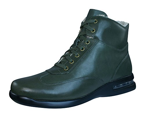 Cole Haan Air Conner Boot Mens Leather Boots / Shoes-Green-7 (Air Conner Cole Haan Shoes compare prices)