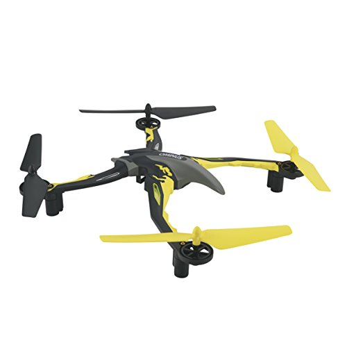 Dromida Ominus Unmanned Aerial Vehicle (UAV) Quadcopter Ready-to-Fly (RTF) Drone, Yellow