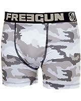 Freegun - Sous-vêtement homme -Freegun boxer homme - CAMOUFLAGE - CAMO