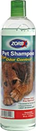 ZORBX Pet Shampoo Plus Odor Control -16oz