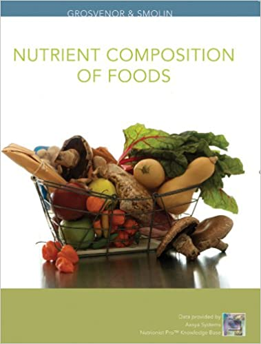 Nutrient composition of foods grosvenor