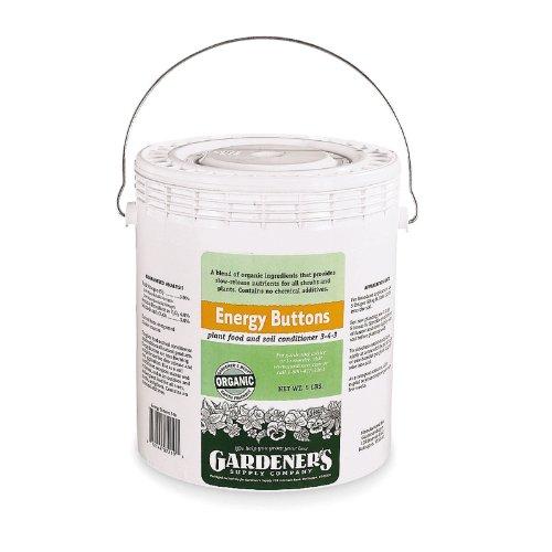 Organic Plant Fertilizer, Energy Buttons, 5 Lbs.