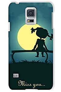 IndiaRangDe Case For Samsung Galaxy S5 G900 Printed Back Cover