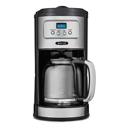 BELLA-Classics-12-Cup-Programmable-Coffee-Maker-Bold-Brew-Stainless-and-Chrome