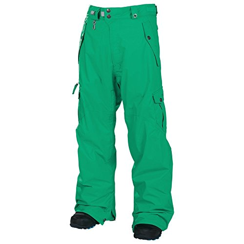 686 Smarty Original Cargo Men's Snowboard Pants (Kelly Green) Size Large