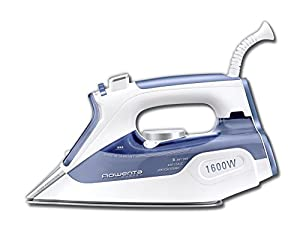 Rowenta DW9050 Master Iron 1600W with INOX Stainless Steel Soleplate Auto-off Anti-drip Precision Tip, Purple