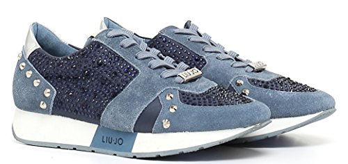 SCARPE RUNNING Luijo AURA T0380 S16195 BLU 38 Blue