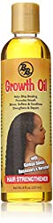 Bronner Brothers Growth Oil Hair Strengthener, 8 Ounce