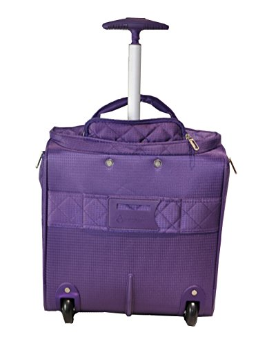 Aerolite 16 Quot Carry On Under Seat Wheeled Trolley Luggage