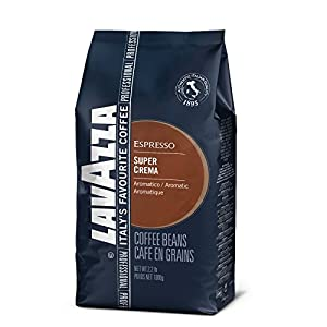 Lavazza Super Crema Espresso Beans - 2.2lb Bags (Case of 6)
