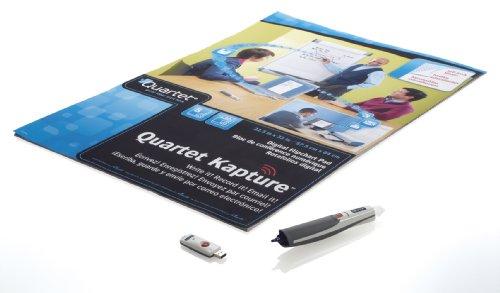 Quartet Kapture Digital Flipchart Starter Kit, 1 Pad, Pen, Usb & Software, Bluetooth (23700)