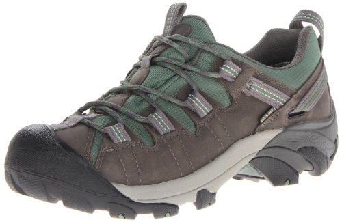 KEEN Women's Targhee II WP Hiking Shoe,Gargoyle/Comfrey,7.5 M US