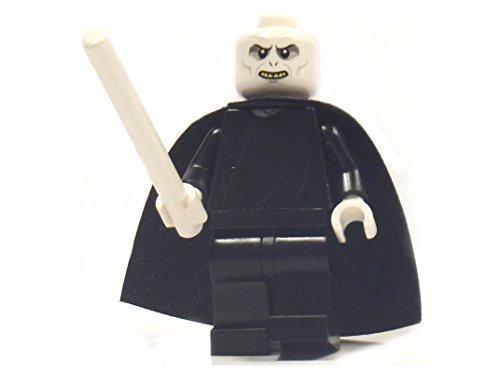 LEGO Harry Potter: Lord Voldemort Minifigura Con Bianco Bacchetta Magica