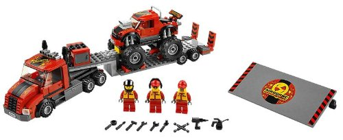LEGO City Town 60027 - Trasportatore di Monster Truck