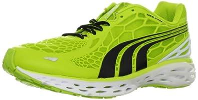 PUMA Men's BioWeb Elite Running Shoe Running Shoe,Lime Punch/Black/White,8 D US