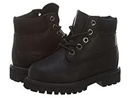 Timberland 6 Inches Classic Boot Toddlers12817 Style: 12817-BLK Size: 4