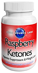 Raspberry Ketones 250mg 60 Capsules from Pure Source Labs