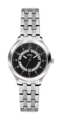 Aspen Aspen Workwear Analog Black Dial Women's Watch - AP1717