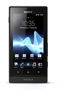 Sony Xperia sola Smartphone (9,4 cm (3,7 Zoll) Touchscreen, 5 Megapixel Kamera, Android 2.3) schwarz