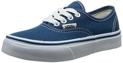 Vans Kids Authentic Skate Shoe Navy/True White 3.5 (Kids Vans Shoes compare prices)