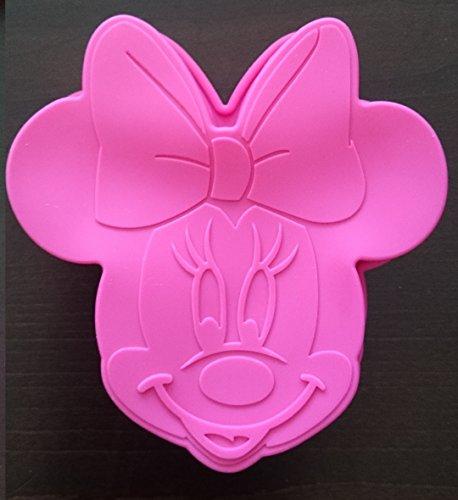 site professionnel dessins attrayants texture nette Disney 3D Minnie Mouse Silicone Mold Sugarcraft Chocolate ...