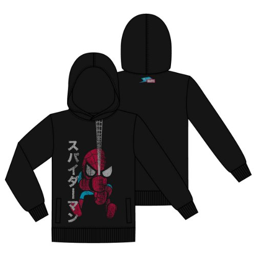 Tokidoki x Marvel: TXM - Japan Spiderman (L) Hoodies