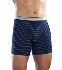 Fruit of the Loom Men's 4pk Striped Boxer Briefs