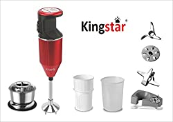 kingstar Hand Blender BMW PLUS RED