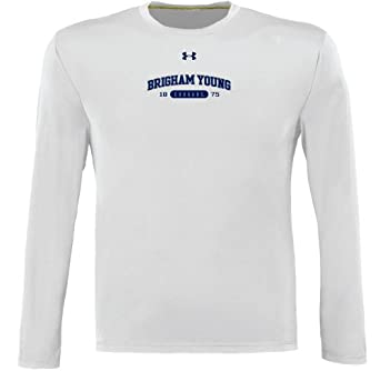 NCAA Brigham Young Cougars Long Sleeve Catalyst Tee By Under Armour by Under Armour