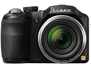 Panasonic Lumix LZ20 Bridge Camera - Black (16 MP, 21x Optical Zoom) 3 inch LCD