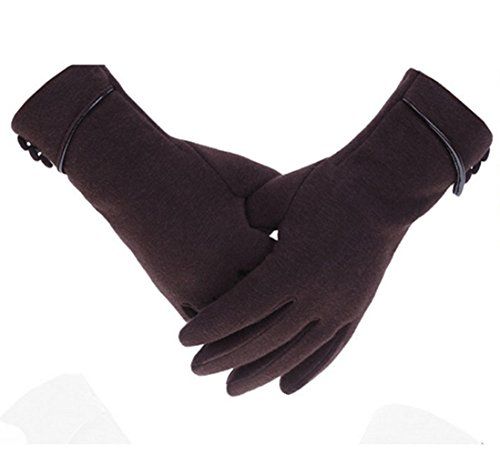 Womens-Warmth-Smart-Touch-Screen-Winter-Stretch-Gloves-for-Smart-devices-brown