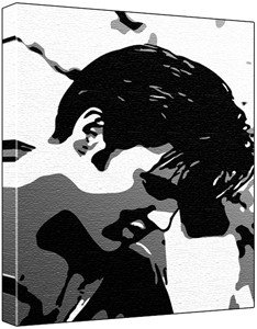 The Gallery For Gt Elvis Pop Art Black And White