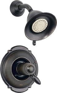 Delta Faucet T17T255-CZ Victorian TempAssure 17T Series Shower Trim, Champagne Bronze