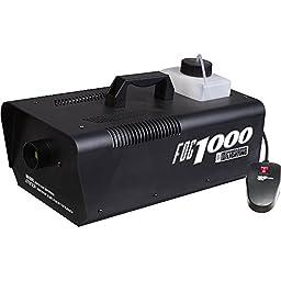 Heavy Duty 1000 Watt Fog Machine W/Remote - Impressive 8,000 Cubic ft. per minute