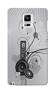 KnapCase Music Designer 3D Printed Case Cover For Samsung Galaxy Note 4