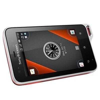 Sony Ericsson Xperia Active Smartphone ST17i ブラック・オレンジ 海外版 SIMフリー