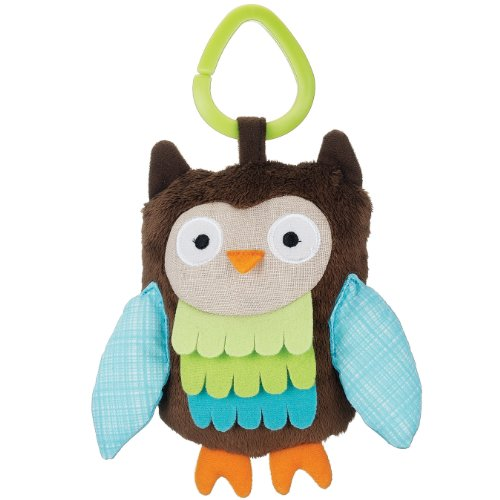 Skip Hop Treetop Friends Stroller Toy, Wise Owl