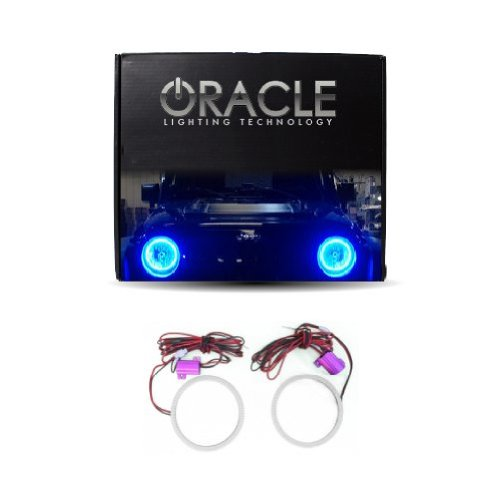 Oracle Lighting Je-Br0713P-B - Jeep Wrangler Plasma Halo Headlight Kit - Blue