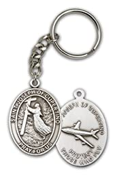 St. Joseph of Cupertino Keychain, Patron Saint of Air Travelers