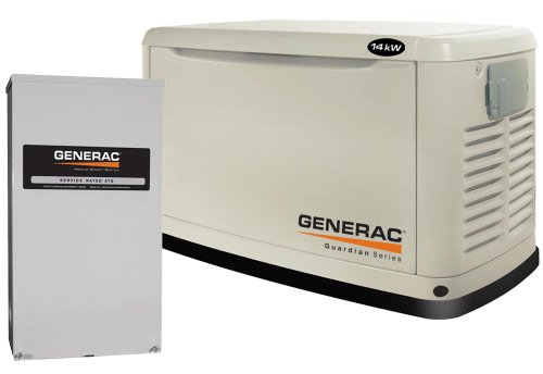Generac Guardian Series 6052 14,000 Watt Air-Cooled